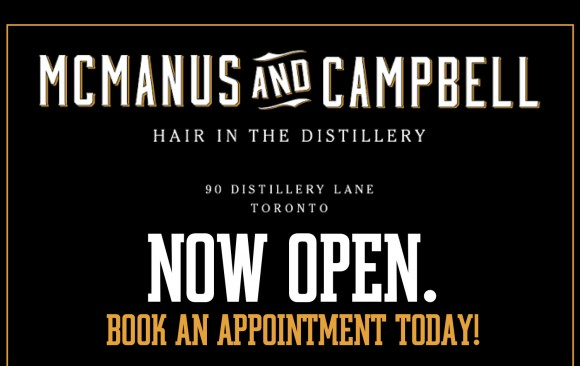 McManus and Campbell Hair in the Distillery