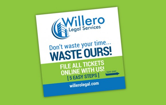 Willero Legal Services – promo cards